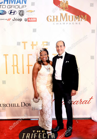 Star Jones, Ricardo Lugo. Star Jones, left, and Ricardo Lugo arrive at The Trifecta Gala sponsored by G.H. Mumm Champagne, in Louisville, Ky