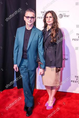 Dave Gahan and Jennifer Sklias-Gahan