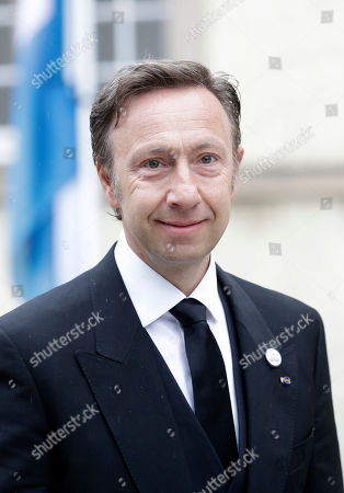 French TV host Stephane Bern arrives for the funeral of Grand Duc Jean of Luxembourg, in Luxembourg, 04 May 2019. Grand Duc Jean died at the age of 98 on 23 April 2019.