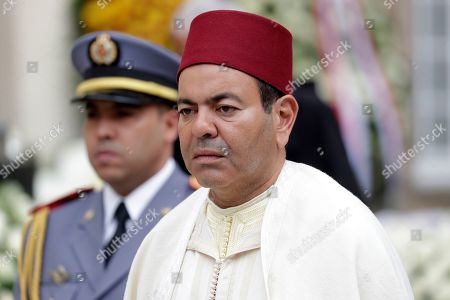 Prince Moulay Rachid of Morocco leaves the Notre-Dame Cathedral after the funeral of Grand Duc Jean of Luxembourg, in Luxembourg, 04 May 2019. Grand Duc Jean died at the age of 98 on 23 April 2019.