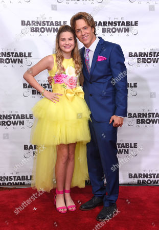 Stock Photo of Dannielynn Birkhead and Larry Birkhead