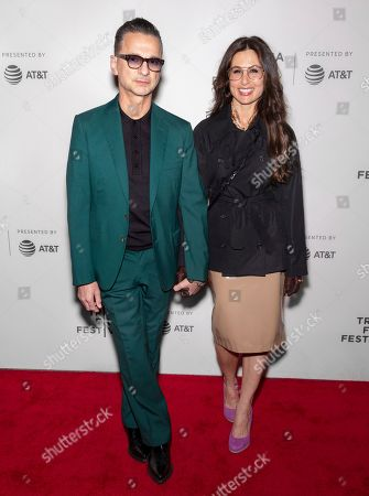 Stock Picture of Dave Gahan, Jennifer Sklias Gahan