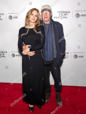 Stock Picture of Alejandra Silva and Richard Gere