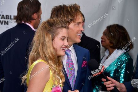 Stock Picture of Larry Birkhead, Dannielynn Birkhead