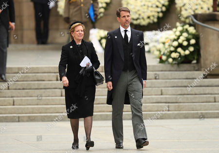 Editorial photo of Grand Duke Jean Funeral, Luxembourg, Luxembourg - 04 May 2019