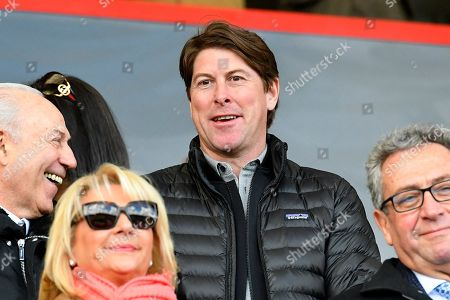 Darren Anderton in the crowd before the Premier League match between Bournemouth and Tottenham Hotspur at the Vitality Stadium, Bournemouth