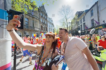 Editorial picture of Swansea Pride Parade, Wales, UK - 04 May 2019