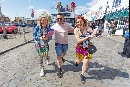 Editorial image of Swansea Pride Parade, Wales, UK - 04 May 2019