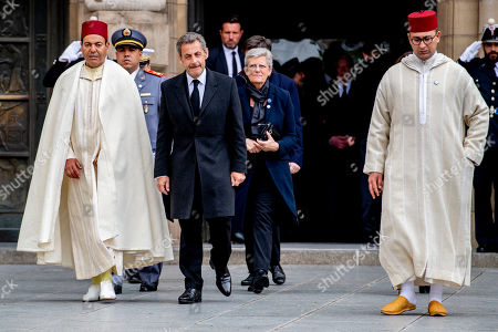 Prince Moulay Rachid of Morocco and Nicolas Sarkozy