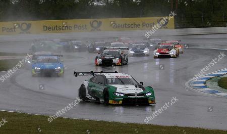 04.05.2019, Hockenheimring, Hockenheim, DTM 2019, 01.Lauf Hockenheimring,03.05. - 05.05.2019 , im Bild Rennstart: Marco Wittmann (DEU#11), BMW Team RMG, Robin Frijns (NL#4), Audi Sport Team Abt Sportsline, Mike Rockenfeller (DEU#99), Audi Sport Team Phoenix, Joel Eriksson (SWE#47), BMW Team RBM, Paul Di Resta (GB#3), R-Motorsport