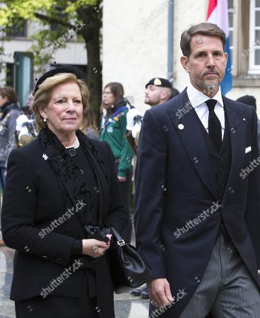 Editorial picture of Grand Duke Jean Funeral Mass, Catherdral Notre-Dame, Luxembourg - 04 May 2019