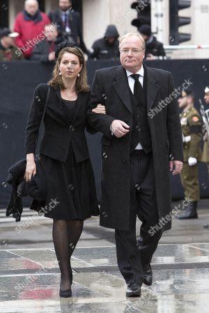 Prince Carlos and Princess Annemarie of Bourbon-Parma