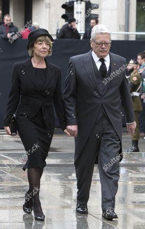 Daniela Schadt and Joachim Gauck