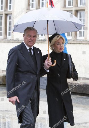 Editorial photo of Grand Duke Jean Funeral Mass, Catherdral Notre-Dame, Luxembourg - 04 May 2019