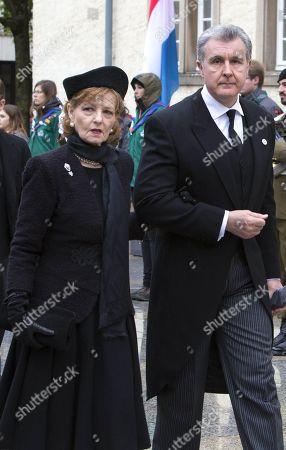 Princess Margareta of Romania and Prince Radu of Romania