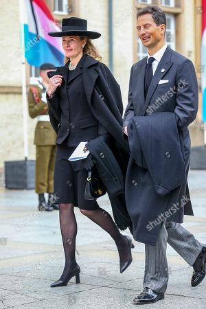 Crown Prince Alois of Liechtenstein of Liechtenstein, Princess Sophie of Isenburg