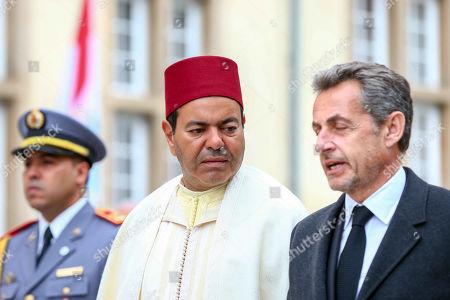 Prince Moulay Rachid of Morocco, Nicolas Sarkozy