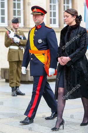 Prince Sebastien of Luxembourg, Princess Alexandra
