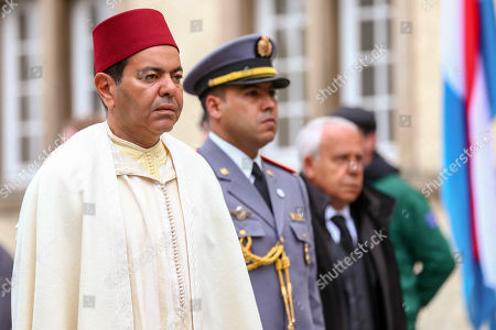 Stock Image of Prince Moulay Rachid of Morocco