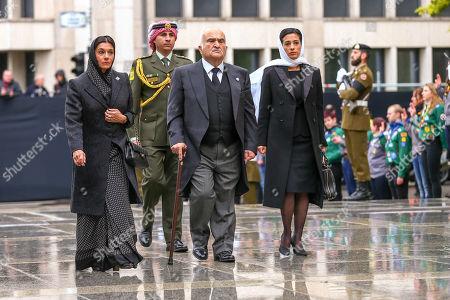 Prince Hassan bin Talal, Princess Sarvath El Hassan, Prince Rashid of Jordan Princess Badiya of Jordan