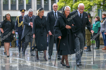 Editorial image of Grand Duke Jean Funeral Mass, Catherdral Notre-Dame, Luxembourg - 04 May 2019
