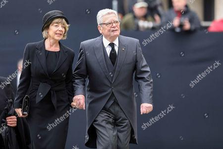 Joachim Gauck, Daniela Schadt,