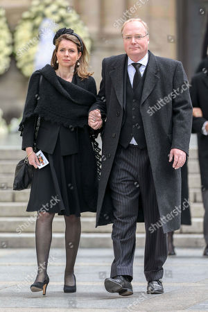 Stock Picture of Prince Carlos of Bourbon-Parma, Princess Annemarie