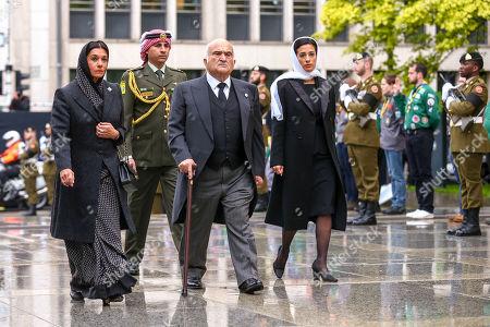 Princess Sarvath , Prince Hassan, Prince Rashid,  Princess Badi'a
