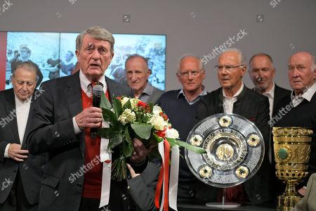 Editorial photo of Football: Germany, 1. Bundesliga, München - 04 May 2019