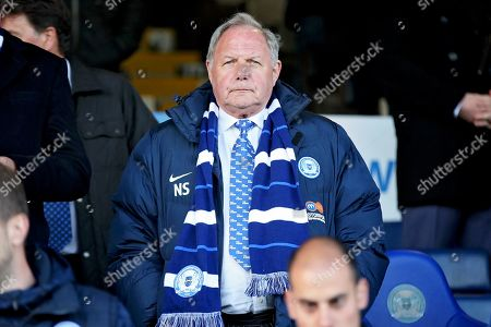 A disappointed Director of Football Barry Fry after the EFL Sky Bet League 1 match between Peterborough United and Burton Albion at London Road, Peterborough