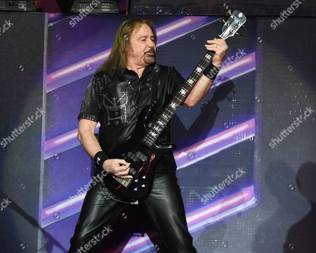 Editorial picture of Judas Priest, in concert,Seminole Hard Rock Hotel and Casino, Florida,  USA - 03 May 2019