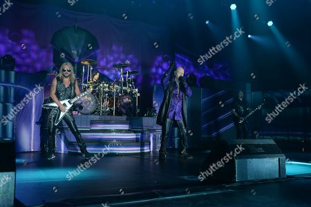 Editorial photo of Judas Priest, in concert,Seminole Hard Rock Hotel and Casino, Florida,  USA - 03 May 2019