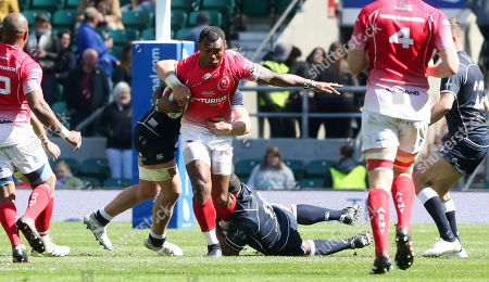 Editorial image of Army v Navy Match, Rugby Union, The Babcock Trophy Twickenham Stadium,  London - 04 May  2019