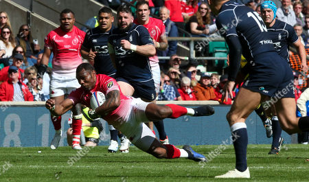 Editorial picture of Army v Navy Match, Rugby Union, The Babcock Trophy Twickenham Stadium,  London - 04 May  2019
