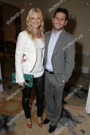 Stock Photo of Amy Smart and Branden Williams