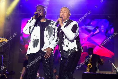 Philip Bailey and Ralph Johnson - Earth, Wind and Fire