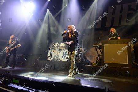 Uriah Heep - Mick Box, Bernie Shaw and Phil Lanzon