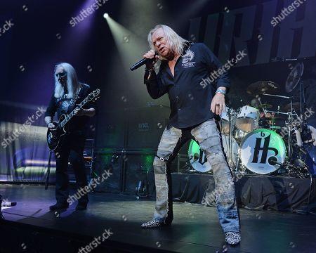 Stock Photo of Uriah Heep - Mick Box, Bernie Shaw