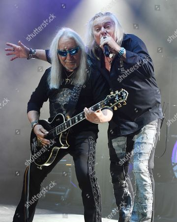 Uriah Heep - Mick Box, Bernie Shaw