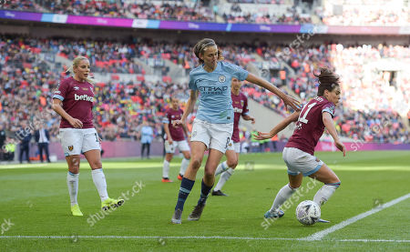 Editorial photo of Manchester City Women v West Ham United Women, SSE Women's FA Cup - Final, Football, Wembley Stadium, London, UK - 04 May 2019