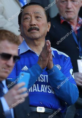 Stock Picture of Cardiff City owner Vincent Tan