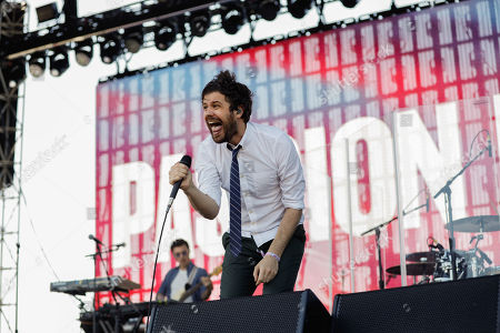 Stock Picture of Passion Pit: Michael Angelakos