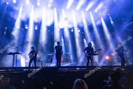 Stock Image of Phoenix - Thomas Mars, Deck d'Arcy, Laurent Brancowitz, Christian Mazzalai, Thomas Hedlund, Robin Coudert