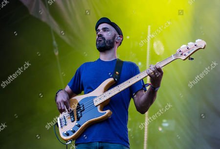 Stock Image of Incubus - Ben Kenney