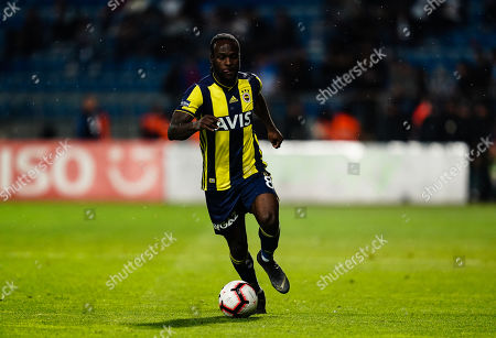 Victor Moses of Fenerbache during the Turkish Super Lig match between Kasimpasa S.K. and Fenerbache at the Recep Tayyip ErdoÄŸan Stadium in Istanbul , Turkey