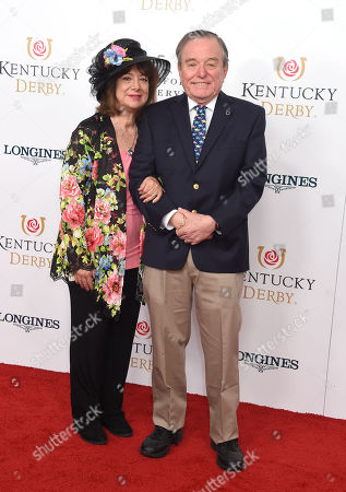 Stock Image of Jerry Mathers and Teresa Mathers