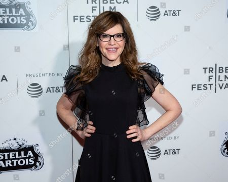 """Lisa Loeb attends the screening for """"Reality Bites - 25th Anniversary Reunion"""" during the 2019 Tribeca Film Festival at the Tribeca Performing Arts Center, in New York"""