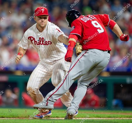 Editorial photo of Nationals Phillies Baseball, Philadelphia, USA - 04 May 2019