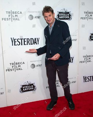 """Tim Bevan attends the screening for """"Yesterday"""" during the 2019 Tribeca Film Festival at the Tribeca Performing Arts Center, in New York"""