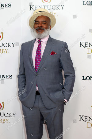David Alan Grier walks the red carpet before the 145th running of the Kentucky Derby horse race at Churchill Downs, in Louisville, Ky
